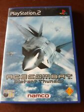 Ace combat ps2 squadron leader + cover distant thunder pal ita #eBayDonaPerTe