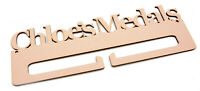 Personalised Medal Holder 4mm MDF Wooden Craft Blank Add Your Own Name