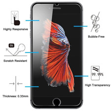Tempered Glass Screen Film Protector For iPhone 11/8/7/6/X/S/PLUS/5/C/XR/XS MAX
