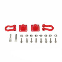 RC Rock Crawler 1:10 Accessory Tow Hook for Axial SCX10 RC Truck Trailer Hook 3C