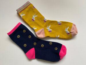 Girls Boden Mini Boden Bundle Of Fun Socks New Shoe Size 12.5 - 2.5 New