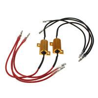 Carchet 2 * 8ohm 25W LED Luz Direccional Resistencia Controlador DC12V
