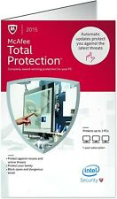 McAfee Total Protection 2015 Antivirus Software — Brand New