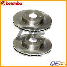 2 Brembo Front Disc Brake Rotors 4351212550 Fits: Chevrolet Geo Toyota Corolla