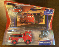 DISNEY CARS Movie Moments - RED & STANLEY, Supercharged Diecast