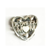 GENUINE PANDORA Silver Love For Mother Charm 792067EN23 FREE DELIVERY