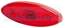 SIM 3158 12v/24v Rosso Ovale Posteriore LED MARKER posizione GIOCO Lampada Luce