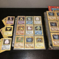 Original Pokemon Card Lot - Vintage WOTC Sets!! 1st Edition, Rares & Holo Rares!