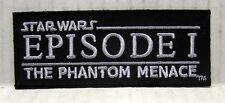 "Star Wars Episode 1 Phantom Menace Movie Logo 3.5"" Embroidered Patch(SWPA-CD-80)"