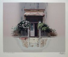 "H.Bendersky ""A House of Alicia"" Original Silkscreen S/N"