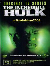 The LEGEND of INCREDIBLE HULK TV Series (Bill BIXBY Lou FERRIGNO) DVD NEW Reg 4