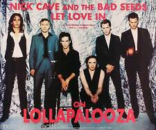 Nick Cave & The Bad Seeds 1994 Let Love In Original Lollapalooza Poster