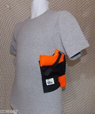 Concealed Carry Holster Shirt with built-in Holster Gray sizes S-XL Right Handed
