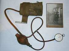 ANTIQUE GERMAN MEDICAL TONOMETER DEVICE MEDICINE BLOOD MEASURE ORIGINAL PHOTO