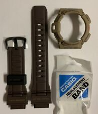 Casio G-Shock Original Band G-9300ER-5 G-9300ER G-9300 Brown Strap + Brown Bezel