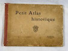 Petit atlas Historique Ch Poussielgue cartes géographiques