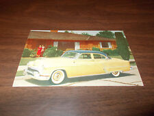 1952 Oldsmobile 98 4-Door Sedan Advertising Postcard