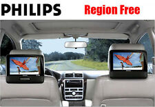 "Philips PD9012 9"" Dual LCD ALL REGION FREE Portable DVD Player - MULTIZONE"