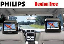 "ALL REGION FREE Philips PD9012 9"" Dual LCD Portable DVD Player - MULTIZONE"