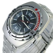 Vostok Amphibian, scuba diving original design Russian watches amfibia #090510m