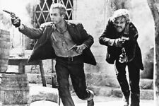 Butch Cassidy And The Sundance Kid Guns Blazing 18x24 Poster
