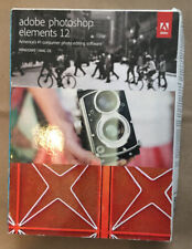 Adobe Photoshop Elements 12 Complete w/ Serial Number Product Key *NIB*