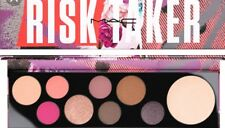 Mac Girls Risk Taker Eyeshadow & Highlighter Palette AUTHENTIC New In Box