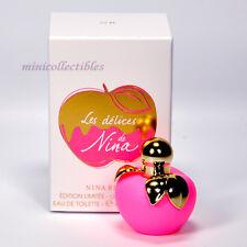 Nina Ricci LES DELICES DE NINA EDT 4 ml Mini Perfume Miniature Limited Edition