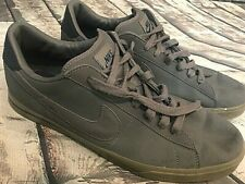 Nike Sweet Classic Low Cool Gray Leather Sneakers, 318333-040, Size 15
