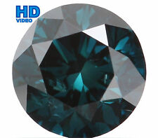 Natural Loose Diamond Round SI1 Clarity Blue Color 5.00 MM 0.53 Ct L4765