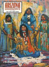 ARIZONA HIGHWAYS July 1972 ~ Pioneer Village / Indian Tribal Medallions