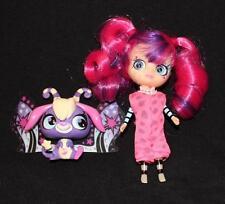 Littlest Pet Shop Moonlight Fairy Twinkling Friends DOLL + PET fairies blythe