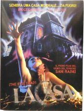 Dvd La Casa - Edizione Slipcase di Sam Raimi 1981 Usato
