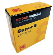 KODAK Super 8MM  200T/7213 VISION 3 COLOR Negative *BRAND NEW FACTORY FRESH*