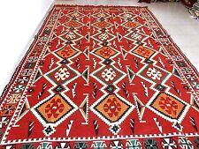 Kilim Fabric Rug,Turkish Kilim Rug,Tribal Rug,Traditional Rug - MA 35-36 rug