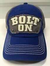 BF GOODRICH TIRES Bolt On Hat Cap Blue White Adjustable SUPER RARE