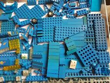 Genuine Lego vintage joblot bundle Classic Space / Town from 70s 80s Mainly Blue