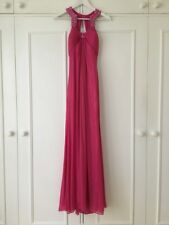 Agua Dresses Beaded Ball Gown in 'Pink' (S) (RRP £200) Rare. Disc 65%