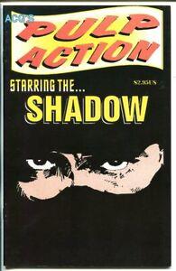PULP ACTION #1-SHADOW COMIC STRIP REPRINTS-ACG-1999-vf/nm