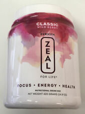 Zurvita Zeal for Life 30 Day Wellness Canister Wild Berry 420 grams