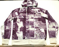 OAKLEY Full Zip Hoodie Sweatshirt Men's Size medium All Over Graphic print