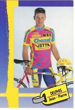 CYCLISME carte cycliste DELPHIS JEAN-PIERRE équipe CHAZAL 1993