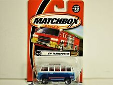 MATCHBOX VOLKSWAGEN VW TRANSPORTER VAN WITH OPEN ROOF NEW IN 2000 PACKAGE