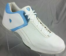 Reebok ABV Above the Rim Mens sz 14 Low Athletic Shoes White Leather Baby Blue