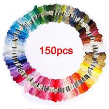 150 Madejas De Multicolor Bordado Hilo Para Punto de Cruz …