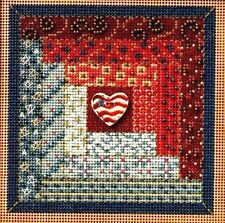 Mill Hill Beads Buttons Counted Cross Stitch kit 5
