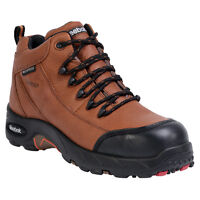 New Reebok RB4444 Men's Tiahawk Waterproof Hiker Boots Comp Toe Brown All Sizes
