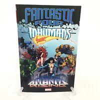 Fantastic Four Inhumans Atlantis Rising Marvel Comics TPB Trade Paperback NEW