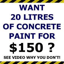 2 in 1 Concrete Paint Sealer - 20L