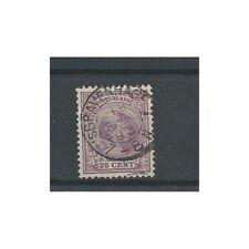 """Nederland  42 """"s'GRAVENHAGE-1  1893"""" kleinrond VFU/gebr  CV 17 €"""